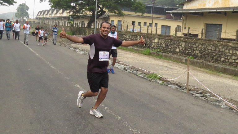 Abad Participation in Spice Coast Marathon Run
