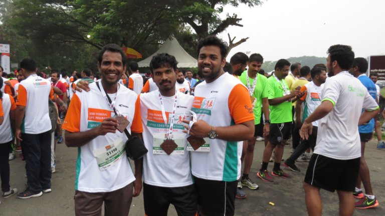 Highlights of Spice Coast Marathon Run - Abad Builders