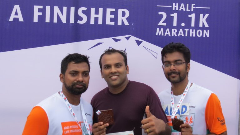 Abad Half Marathon Finisher