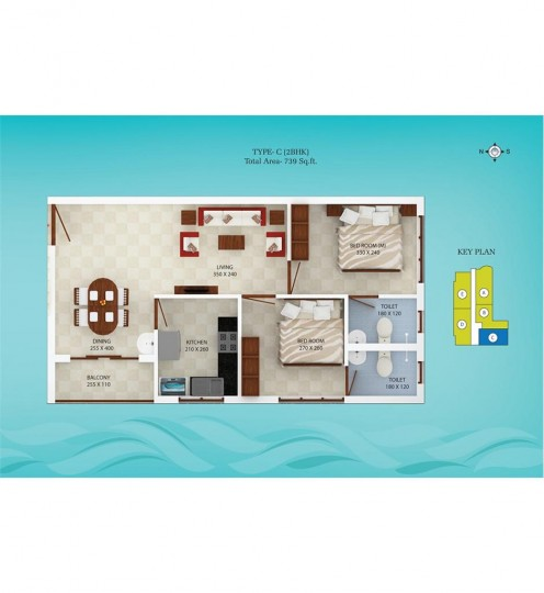 Typical Floor Plan - Spice Bay Value Homes, Ernaku